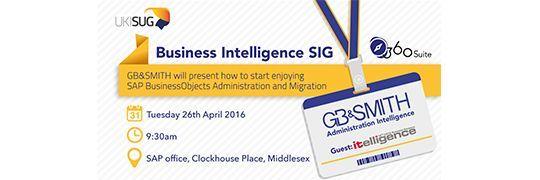 Business Intelligence SIG