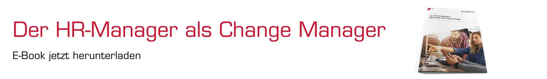 _E-Book Banner Change Management im HR | Der HR-Manager als Change Manager| Human Experience Management