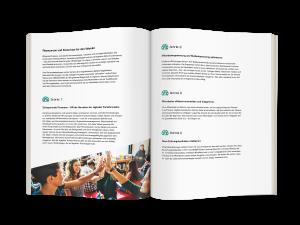 E-Book Doppelseite Change Management im HR | Der HR-Manager als Change Manager| Human Experience Management
