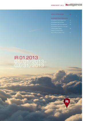 Zwischenbericht 1/2013