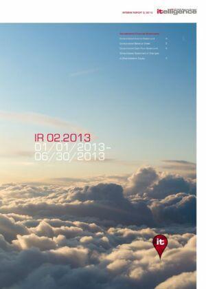 Zwischenbericht 2/2013
