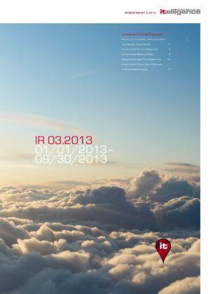 Zwischenbericht 3/2013