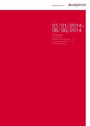 2014 Yarı Yıl Faaliyet Raporu