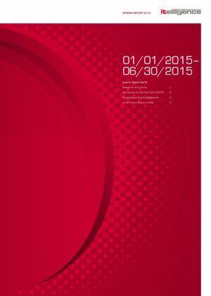 2015 Yarı Yıl Faaliyet Raporu