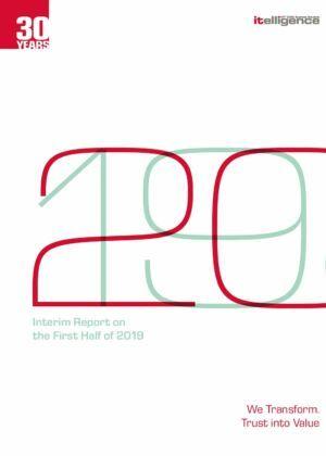 Pololetní výroční zpráva za rok 2019