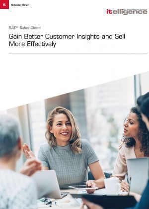 How to Sell More Effectively with SAP Sales Cloud