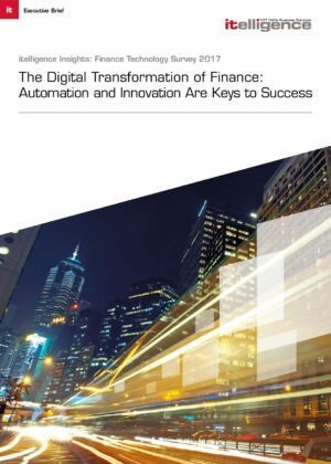 The Digital Transformation of Finance: Automation and Innovation Are Keys to Success