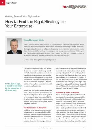 Digitalization: How to Find the Right Strategy for Your Enterprise
