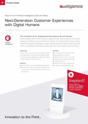 Improve employee experiences with our next-generation chatbot Kia Mia