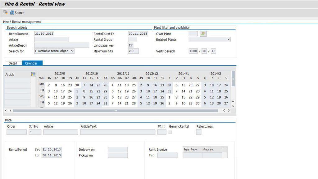 Udržujte si jasný přehled vašich produktů k pronájmu s it.hire&rental od itelligence.