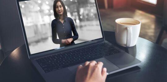 First digital human running on the SAP Intelligent Enterprise Framework.