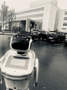Join Pernille and Thomas on their tour across Europe, sharing value of AI and service robots.