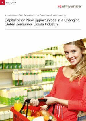 Aprovecha las nuevas oportunidades en una cambiante industria global de bienes de consumo