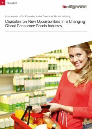 Vydělávejte na nových příležitostech v transformujícím se odvětví globálního spotřebního zboží