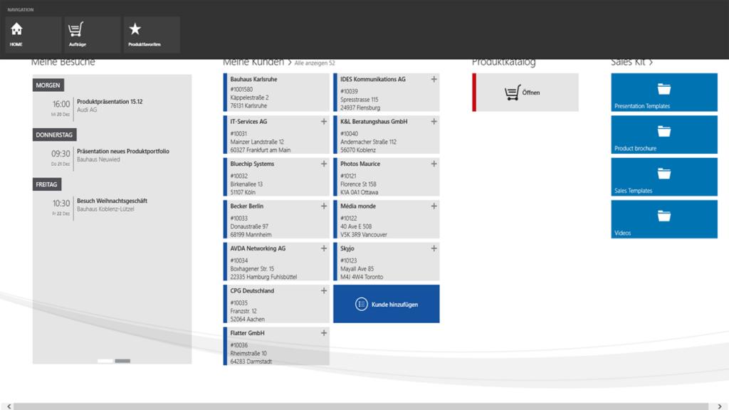 Binden Sie Ihr ERP-System, Ihre CRM-Lösung oder Ihren Webshop einfach an it.product.catalog an.