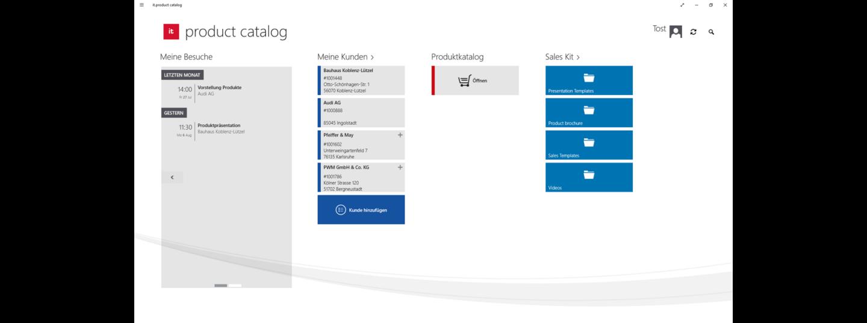 Dashboard it.mx product catalog