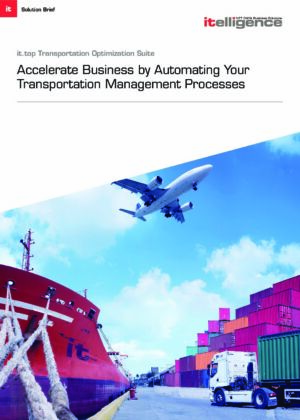 Accelerate Business by Automating Your Transportation Management Processes