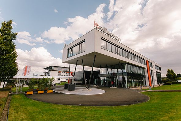 Foto Hauptsitz der itelligence AG in Bielefeld statt