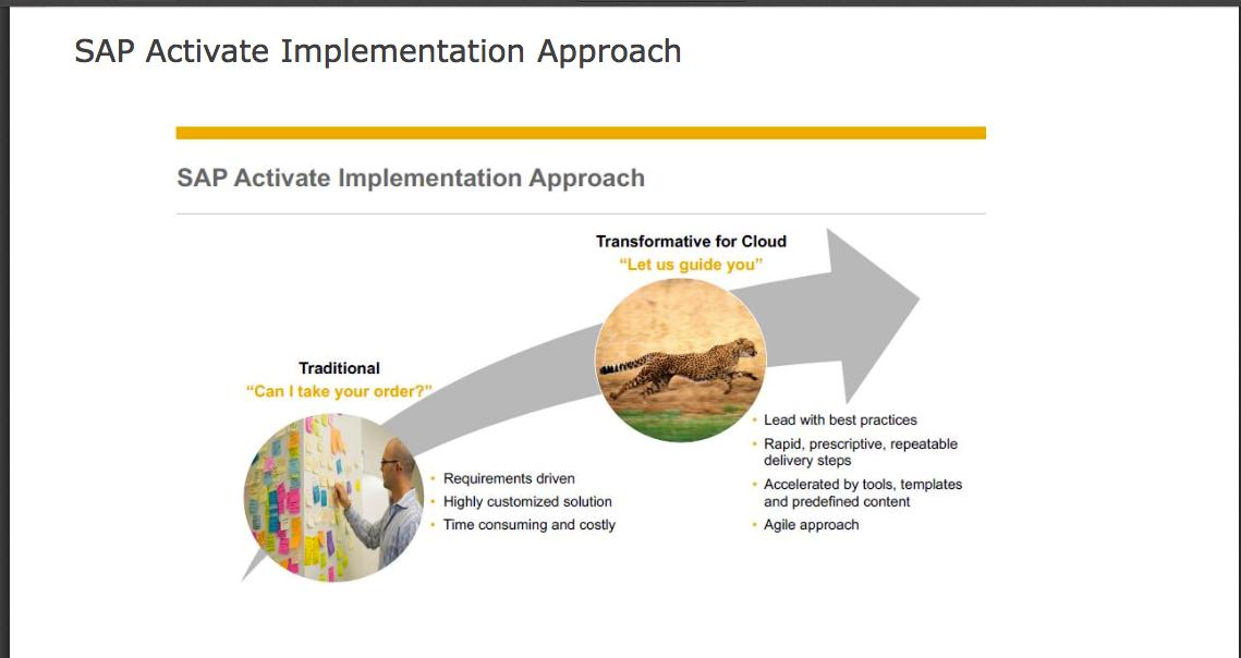 """SAP ERP Cloud mit S/4HANA Cloud richtig einführen – """"Fit to Standard"""" die neue SAP Activate-Methode"""