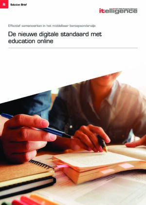 The New Digital Standard with education online (Dutch)