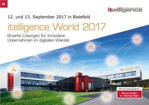 Einladung itelligence World 2017