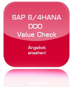 Image AddStore SAP S/4HANA D00 Value Check
