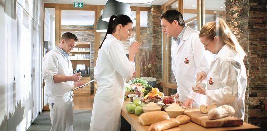 Ruegenwalder image of chefs in kitchen