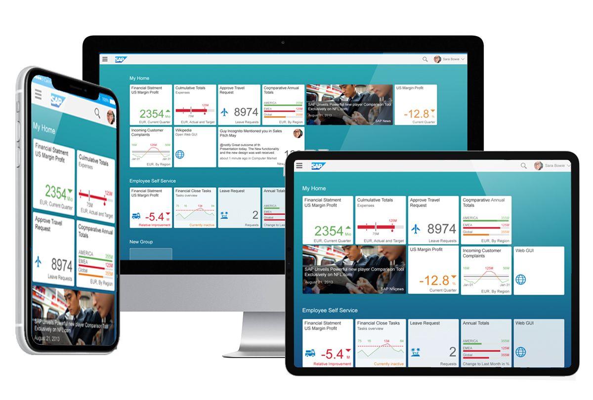 Персонализация и упрощение пользовательского взаимодействия с SAP с помощью SAP Fiori.