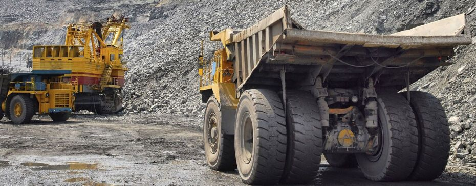 mining work site
