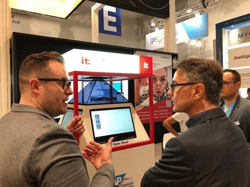 NTT DATA Business Solutions AG auf der DMEXCO 2018 in Köln - Showcase SuperMarion