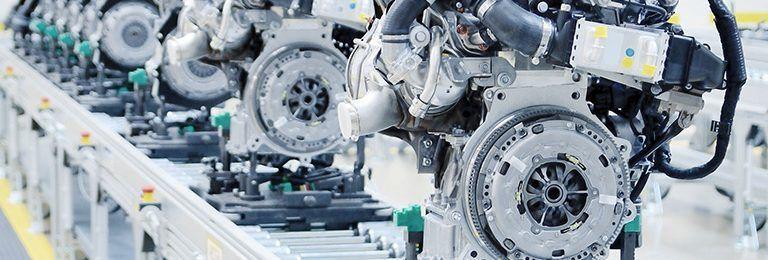 operacje produkcyjne fabryka silnikow