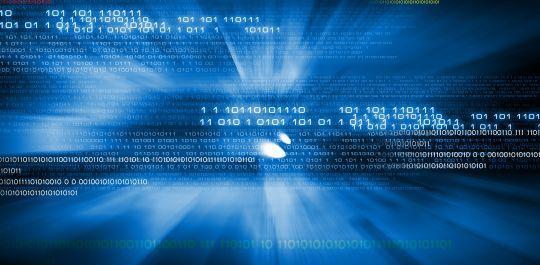 Illustration of streaming digital data