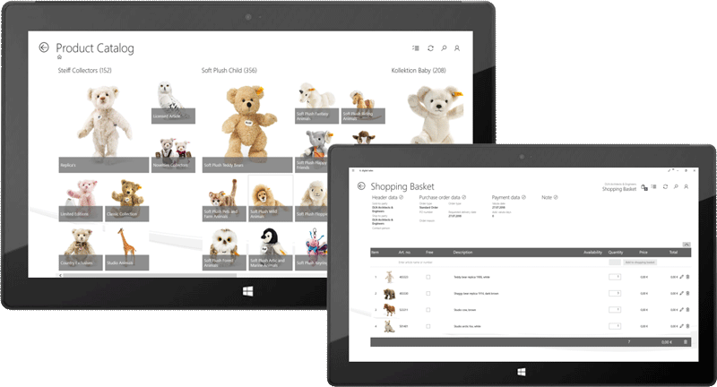 it.product catalog for optimized product presentations, due to intuitive, user-friendly interfaces.