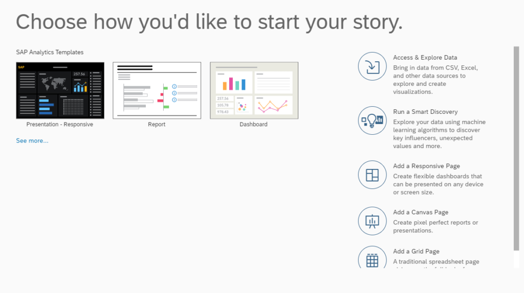 Veri Görselleştirmede SAP Analytics Cloud