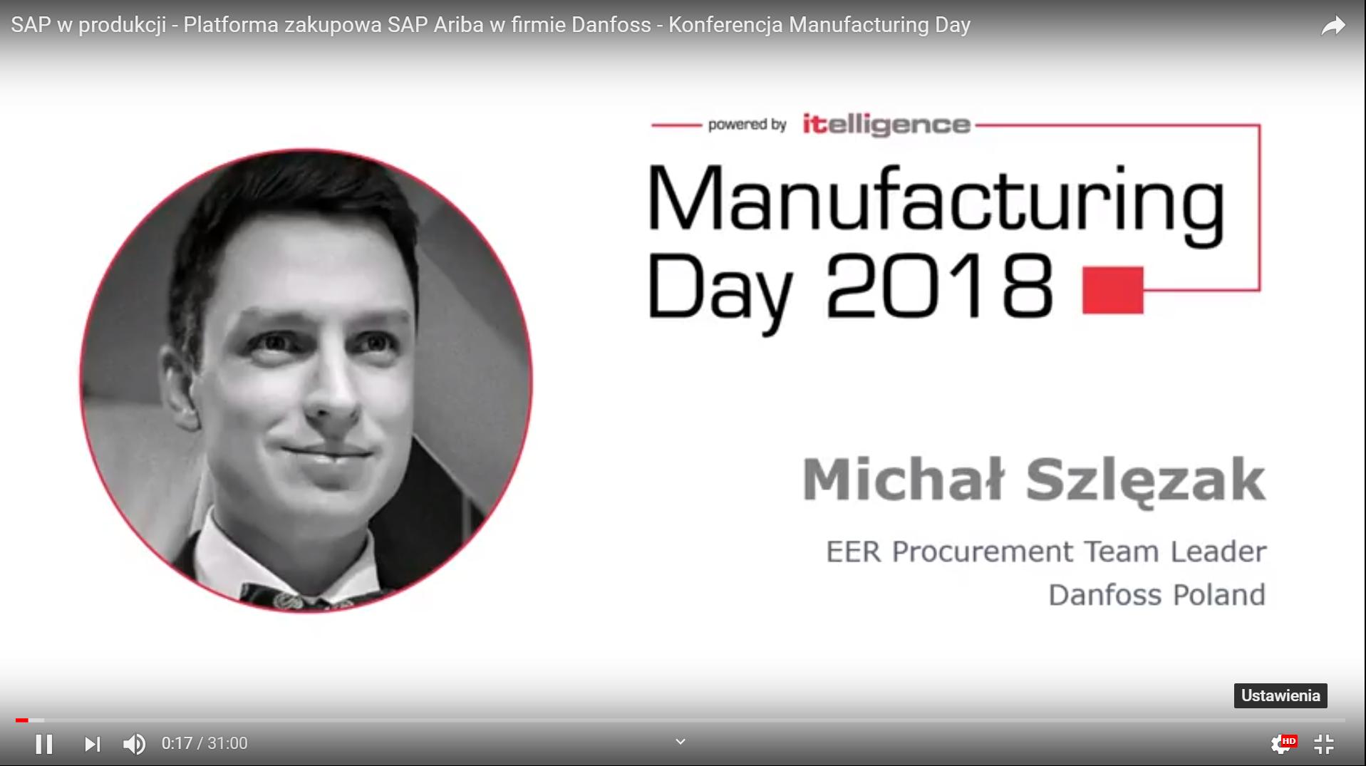 Digitalizacja zakupów w firmie Danfoss poprzez platformę zakupową SAP Ariba