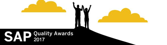 SAP Kalite Ödülleri 2017 Kazananlar