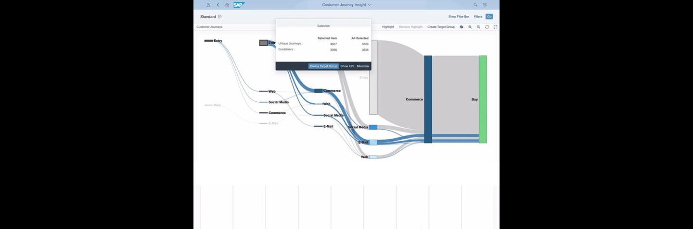 SAP Marketing Cloud Screenshot Customer Journey