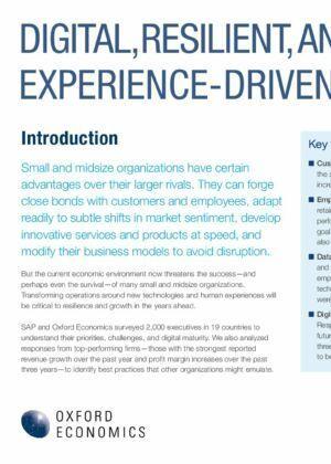 Jak MŚP mogą przygotować się na nową gospodarkę