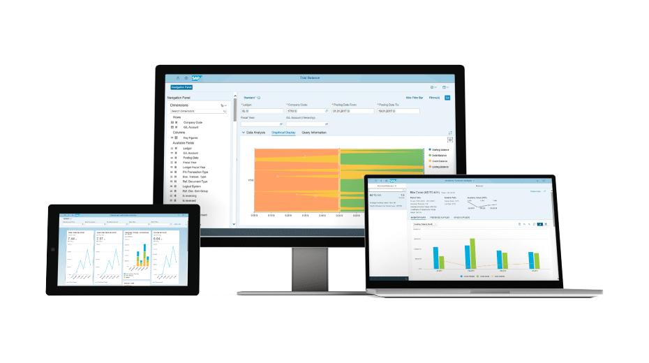 Grafik: User Interfaces der SAP S/4HANA Cloud