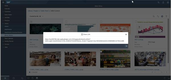 sap service cloud library capabilities