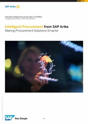 SAP Ariba Taking Advantage of AI and Machine Learning