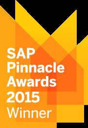 SAP Pinnacle 2015 Winner Logo