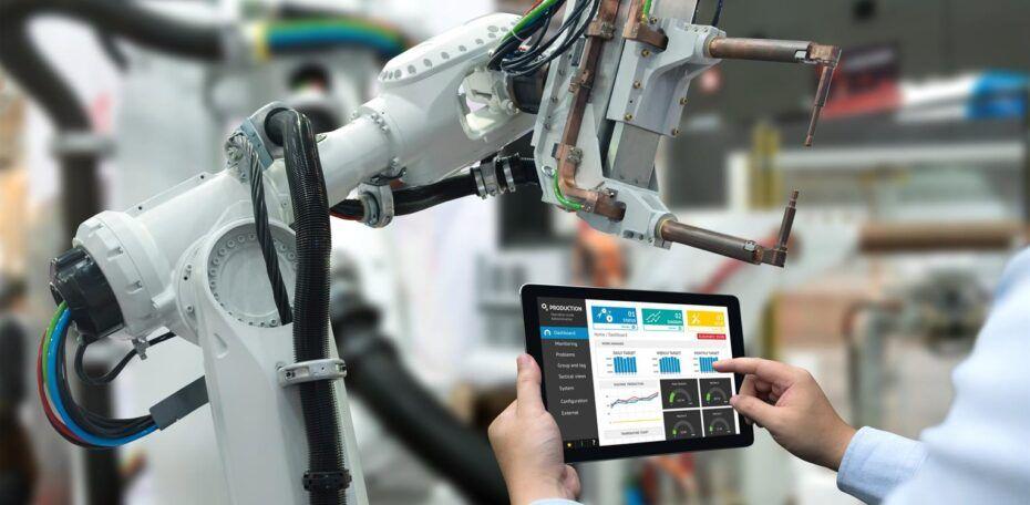 Optimieren und automatisieren Sie Fertigungsprozesse mit IoT-Diensten.