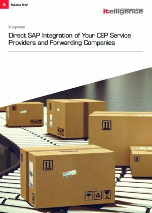 Cómo integrar su proceso de envío 100% en su SAP ERP