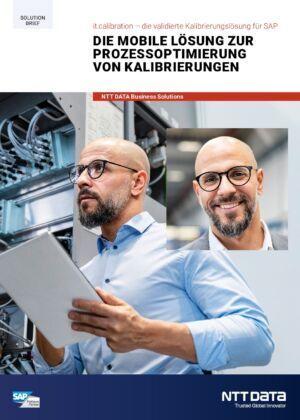 Automatisieren Sie jetzt die Durchführung von Kalibrierungen für Ihre Messgeräte mit SAP
