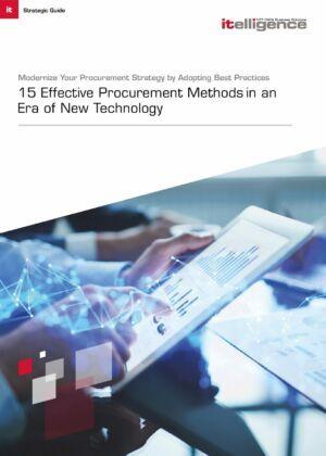15 Effective Procurement Methods and Best Practices