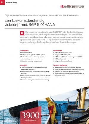 Digitale transformatie van toonaangevend visbedrijf aan het IJsselmeer: een toekomstbestendig visbedrijf met SAP S/4HANA