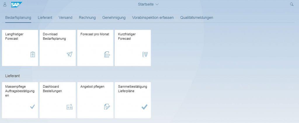 Übernehmen Sie die Kontrolle über die Lieferantenplanung mit einfach zu bedienenden Dashboards im it.vendor portal.