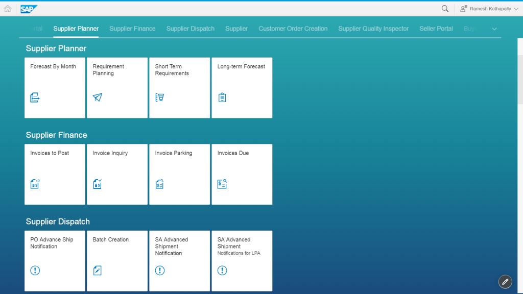 Tome el control de la planificación de proveedores con paneles de control fáciles de usar en it.vendor portal.