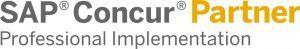 Logo SAP Concur Partner Professional Implementation